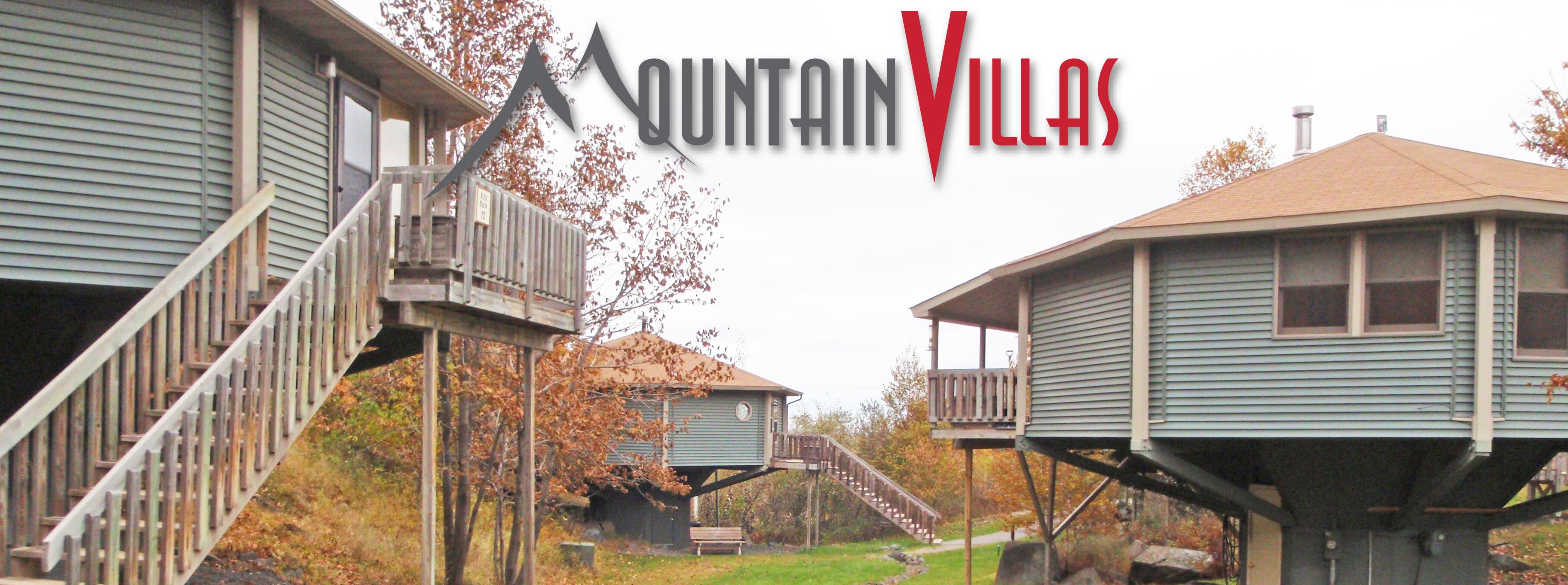 The villas at Mountain Villas are all individual units